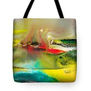 Caressed By Time Tote Bag