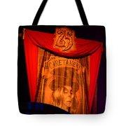 Caretaker Banner Tote Bag