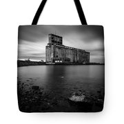 Cargill Grain Lies Quietly On The Shores Of Lake Erie Tote Bag