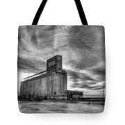 Cargill Sunset In B/w Tote Bag