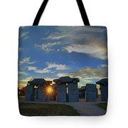 Carhenge - Nebraska - Sunset Tote Bag