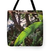 Caribbean Banana Leaf Tote Bag