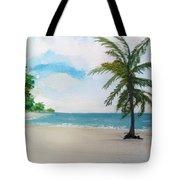 Caribbean Beach Tote Bag