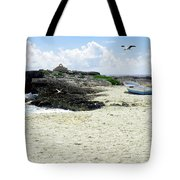 Caribbean Beach Scenic Tote Bag