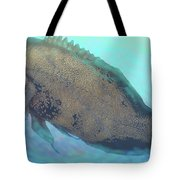 Caribbean Blue Tote Bag