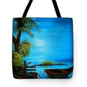 Caribbean Bueaty Tote Bag