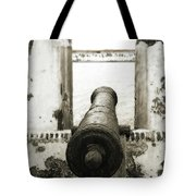 Caribbean Cannon Tote Bag