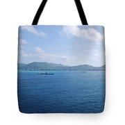 Caribbean Coastline Tote Bag