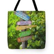 Caribbean Crossroads Tote Bag