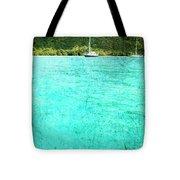 Caribbean Cruising Tote Bag