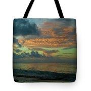 Caribbean Early Sunrise 2 Tote Bag