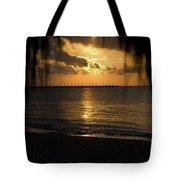 Caribbean Early Sunrise 5 Tote Bag