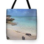 Caribbean Flippin Flops Tote Bag