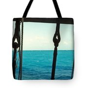 Caribbean From A Square Rigger Tote Bag