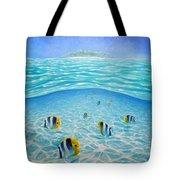 Caribbean Island Dream Tote Bag