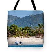Caribbean Island Tote Bag