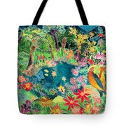 Caribbean Jungle Tote Bag