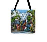 Caribbean Outdoor Market Tote Bag