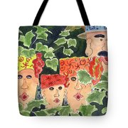 Caribbean Whimsey Tote Bag
