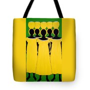 Caribbean Yellow Tote Bag