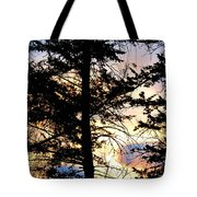 Cariboo District Sunset Tote Bag