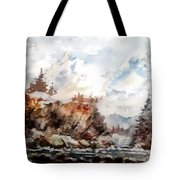 Cariboo Fall Tote Bag