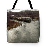 Caribou Stream Looking East Tote Bag
