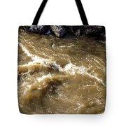 Caribou Stream Rapids Tote Bag