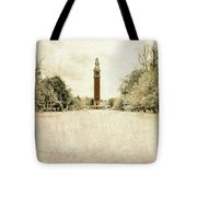 Carillon In The Snow Tote Bag