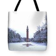 Carillon In Winter Tote Bag