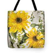 Carina Sunflowers Tote Bag