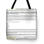 Cariniair Infographics Tote Bag