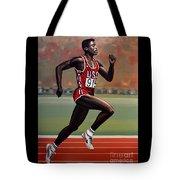 Carl Lewis Tote Bag