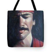 Carlos Santana Tote Bag