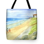 Carlsbad Beach Tote Bag