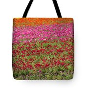 Carlsbad Flower Fields Tote Bag