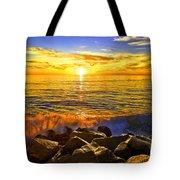 Carlsbad Sunset Tote Bag