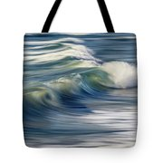 Ocean Wave Abstract Tote Bag