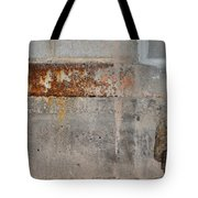 Carlton 16 Concrete Mortar And Rust Tote Bag