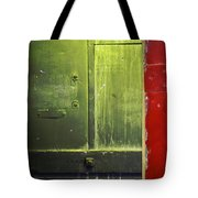 Carlton 6 - Firedoor Abstract Tote Bag