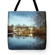 Carleton Place On The Mississippi - 18 Tote Bag