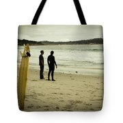 Carmel Beach, Ca Tote Bag