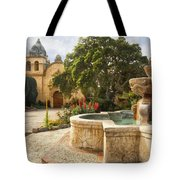 Carmel Church And Fountain Tote Bag