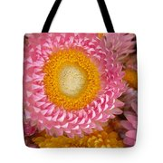 Carmel Flower Tote Bag