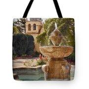 Carmel Fountain Courtyard Tote Bag