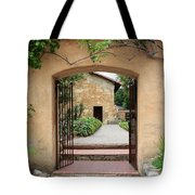 Carmel Mission Path Tote Bag