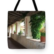 Carmel Mission Walkway Tote Bag