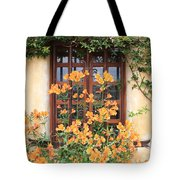 Carmel Mission Window Tote Bag