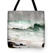 Carmel Wave Rock Tote Bag