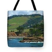 Carmelite Monastery Near Point Lobos Tote Bag